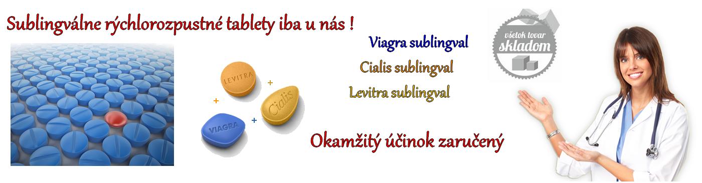 Viagra Cialis Levitra účinné lieky