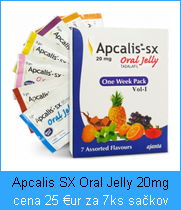 Liek Apcalis SX Oral Jelly 20mg