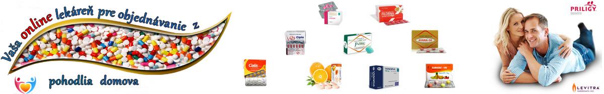Viagra Cialis Levitra originál generické lieky online na dobierku