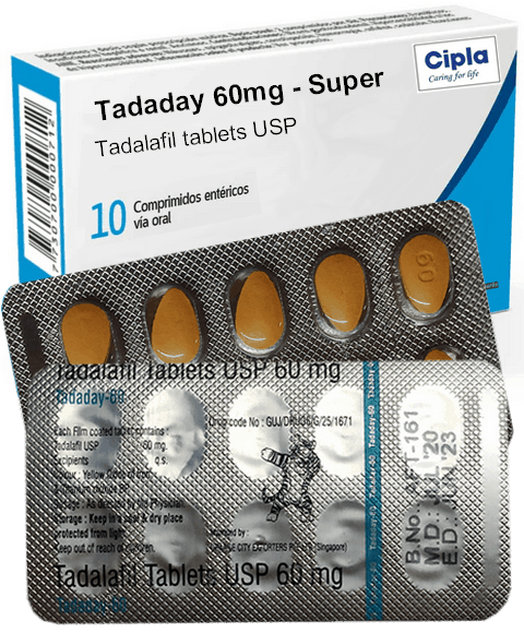 Tadaday 60mg Cialis