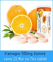 Liek Kamagra šumivé tablety