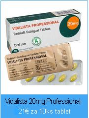 Liek Vidalista 20mg Professional